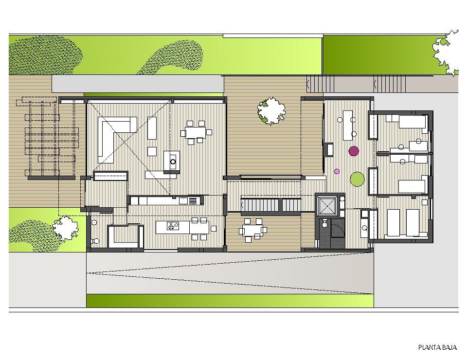 Vivienda unifamiliar en finca la alcayna abeij n fern ndez estudio de arquitectura - Planos de viviendas unifamiliares ...