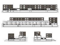 Edificio de 50 viviendas en la Isla 1 de Meixón Frío