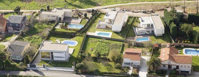 Viviendas unifamiliares en Lourenciño