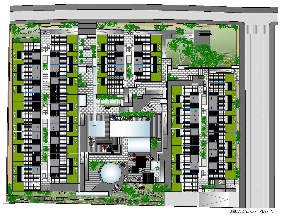 Planta urbanización - Palm-Mar