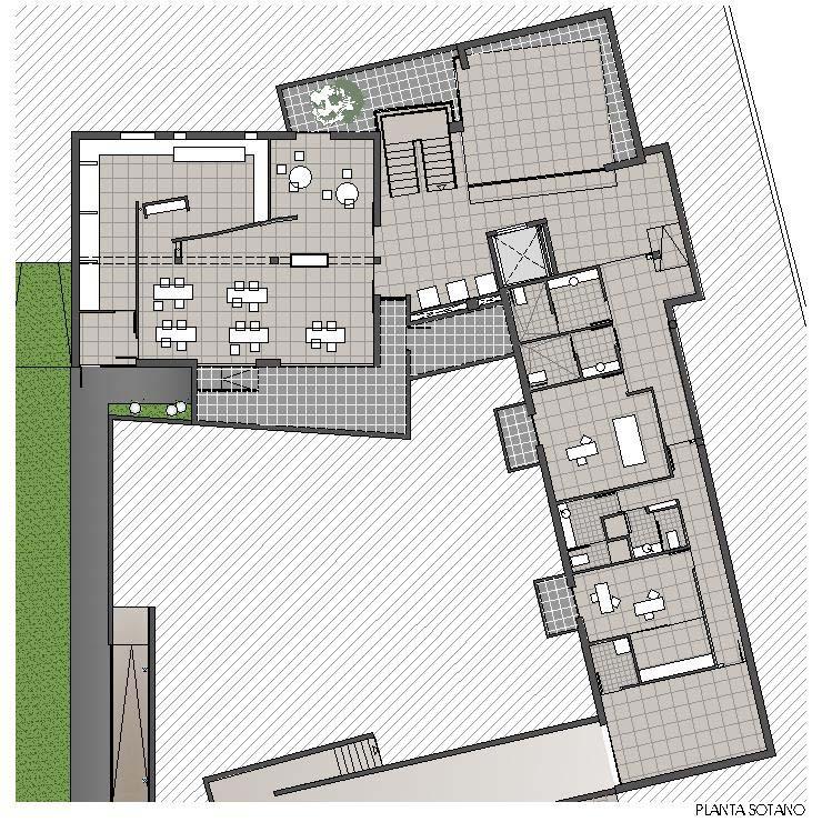 Residencia ASDEN - Planta Sótano