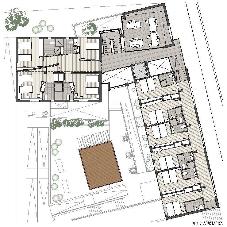 Residencia ASDEN - Planta Primera
