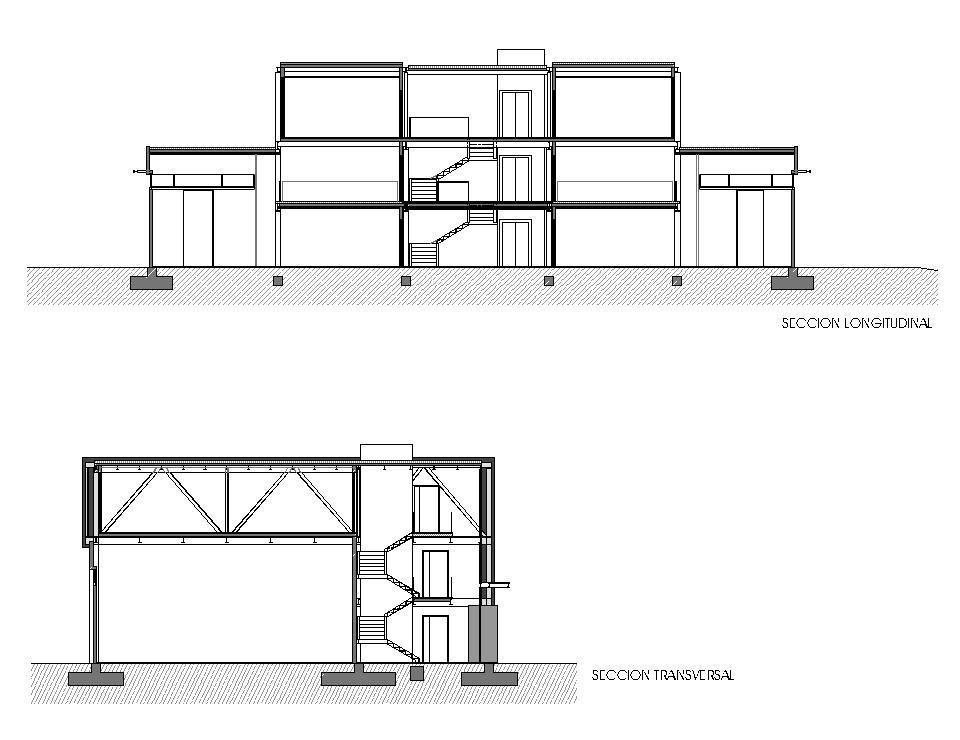 Nave industrial y oficinas en A Telva - Secciones
