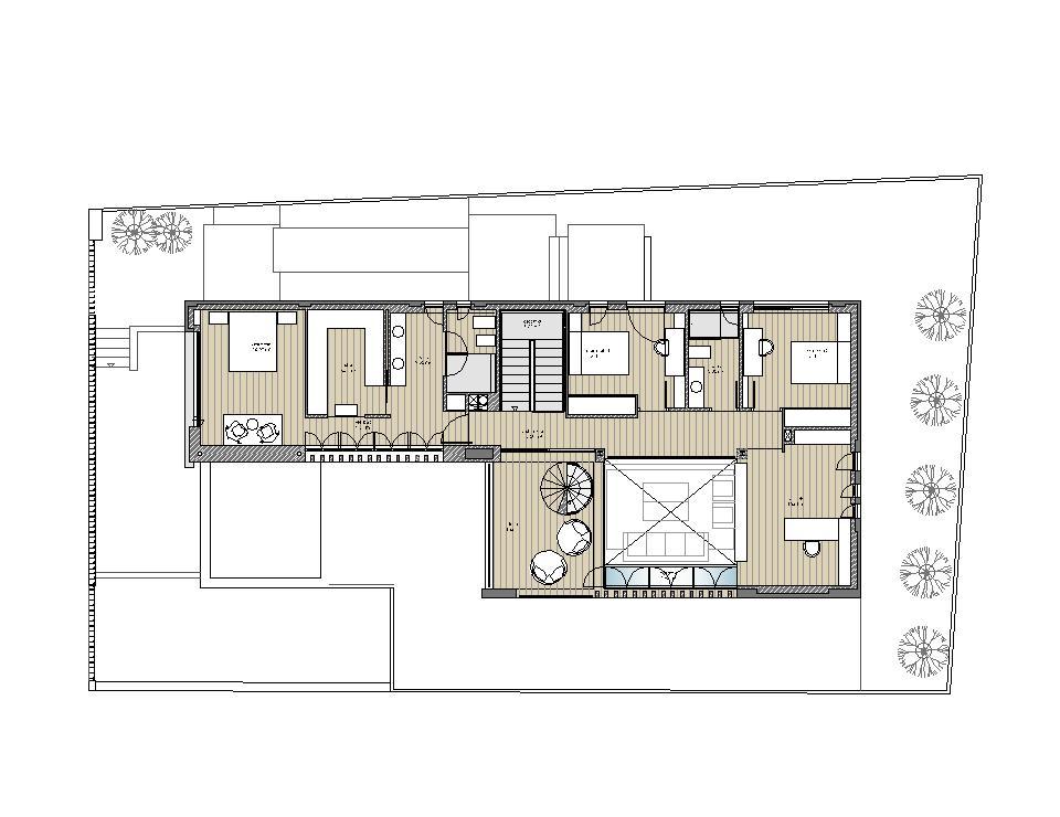 Vivienda unifamiliar en as galeras abeij n fern ndez - Proyectos casas unifamiliares ...