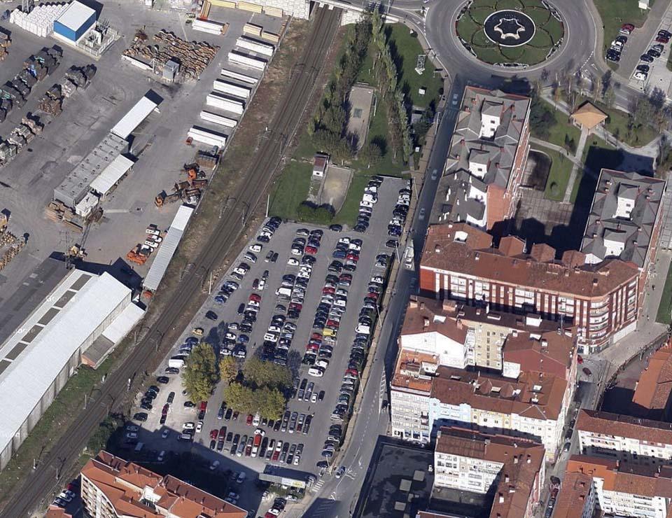 Foto aérea - Concurso en Torrelavega